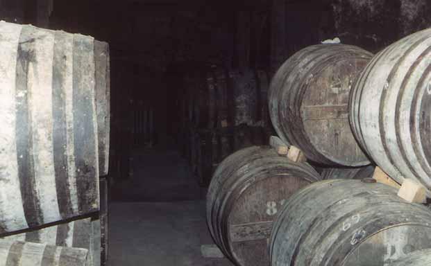 Cave de futs armagnac