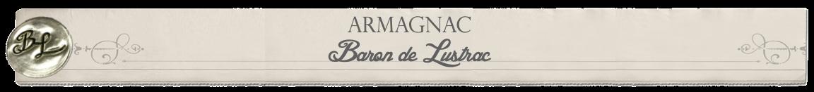 ARMAGNAC BARON DE LUSTRAC Logo